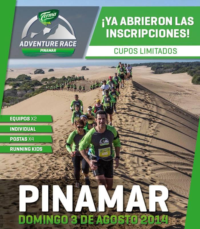 Pinamar Adventure Race, el próximo 3 de Agosto