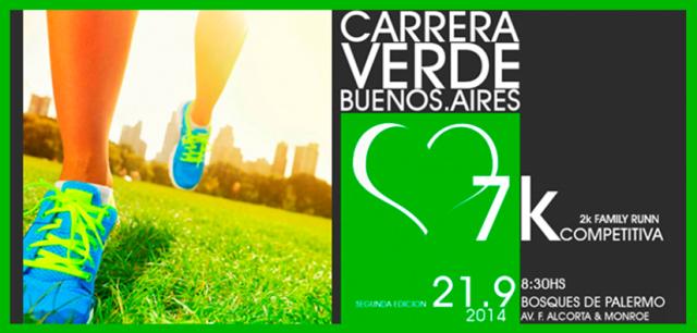Carrera Verde, el 21 de Septiembre en Palermo