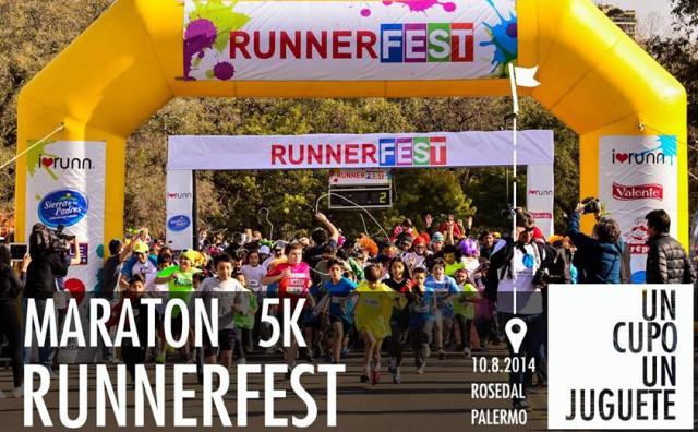 Runner Fest el 10 de Agosto en Palermo