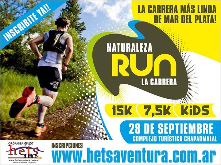 Naturaleza Run en Mar del Plata el 28 de Septiembre