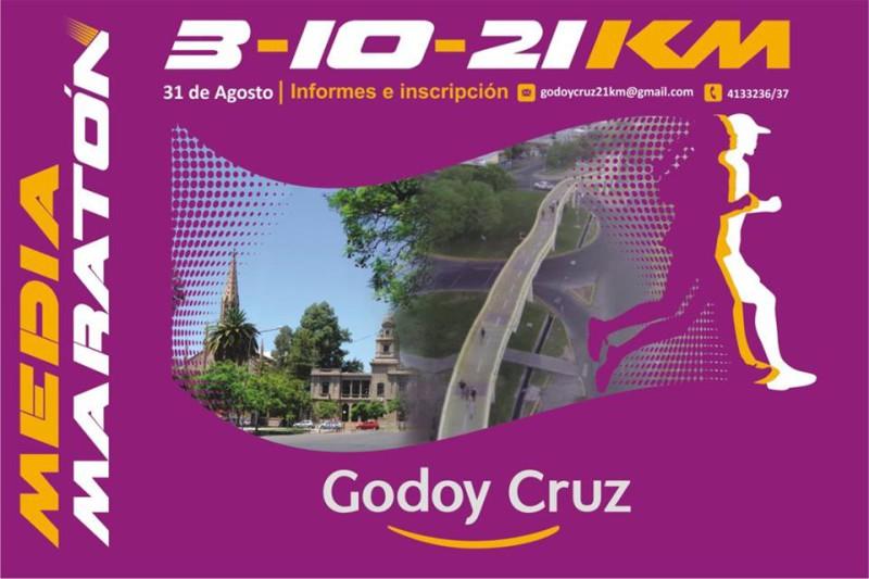 Media Maratón Godoy Cruz 31 de Agosto