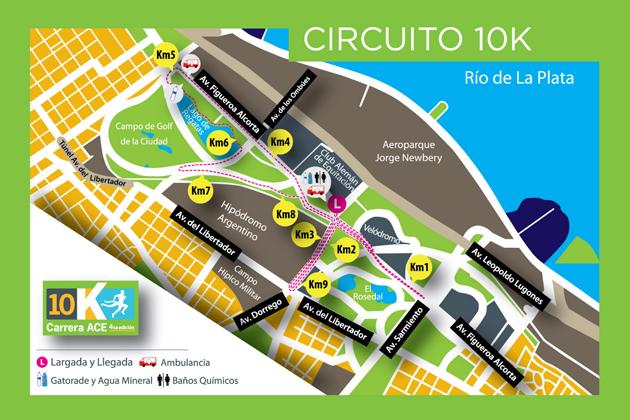 10K ACE Seguros el 2 de Noviembre en Palermo