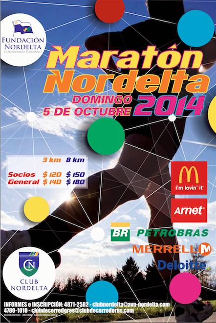 Maratón Nordelta 2014, el 5 de Octubre