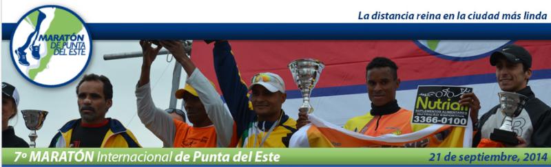 Maratón de Punta del Este, el 21 de Septiembre