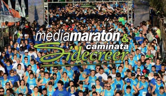 Media Maratón y Caminata Sidecreer el 8 de Noviembre