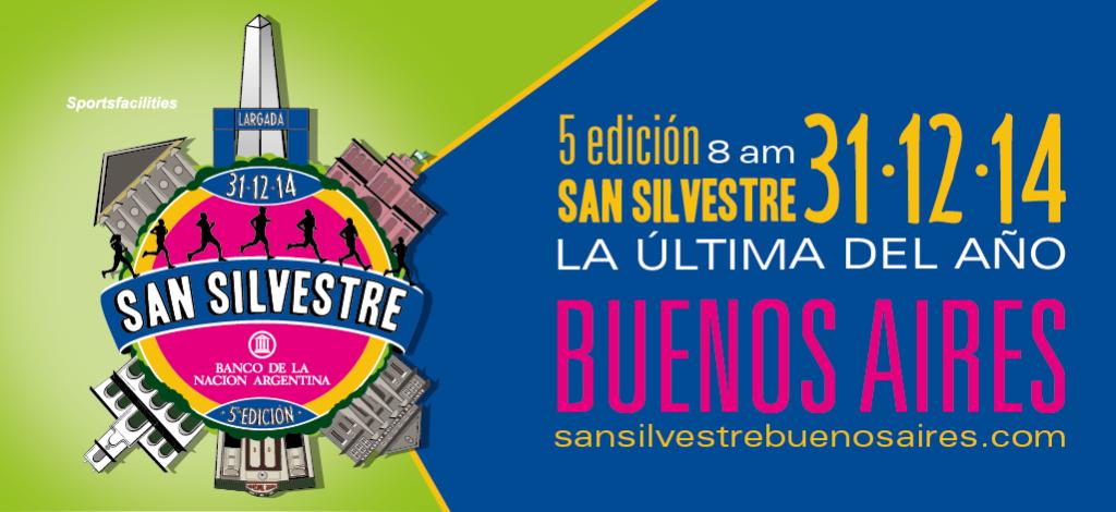 5ta Edición San Silvestre Buenos Aires, el 8 de Diciembre