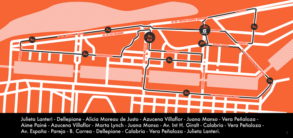 Fila Race, el 19 de Abril en Puerto Madero