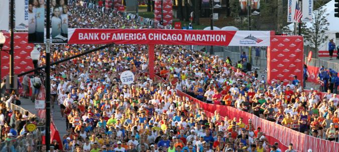 Maratón de Chicago 2015, Inscripciones Abiertas
