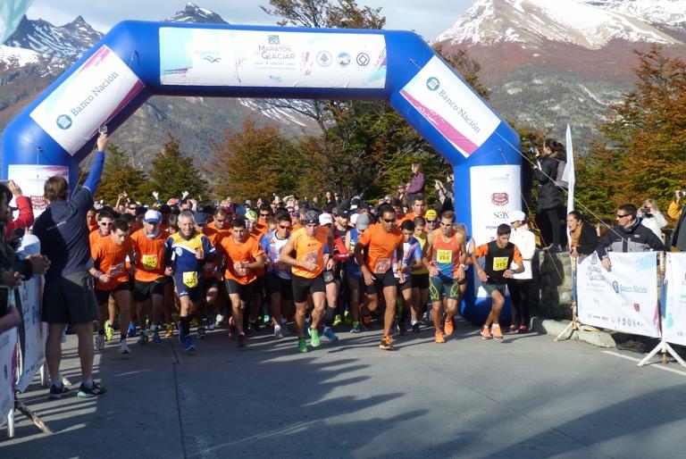 Resultados: Media Maratón del Glaciar