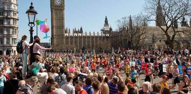 Anotate en la Maratón de Londres 2016