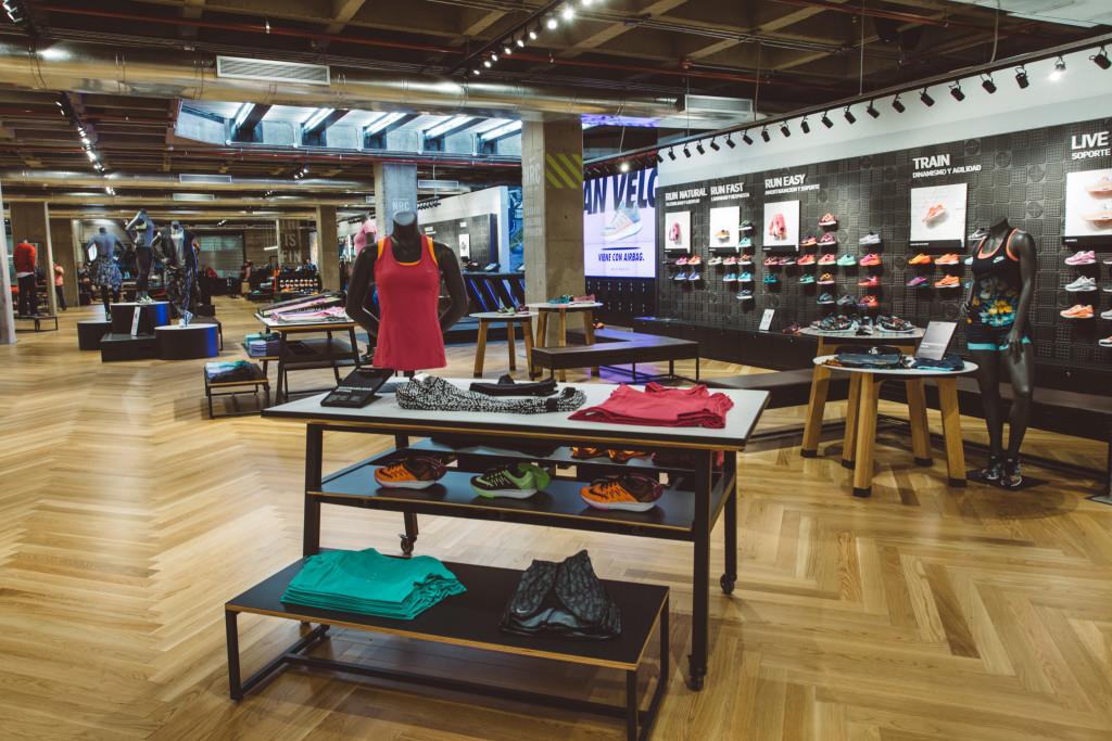 Nueva tienda de Nike en Buenos Aires