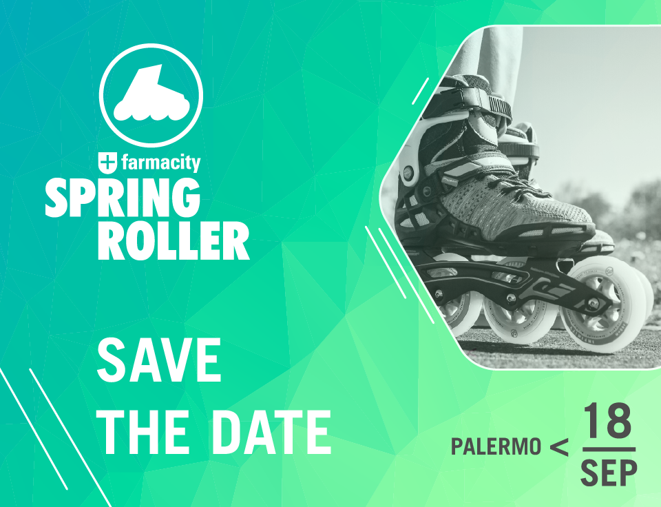 Save the date SPRING ROLLER