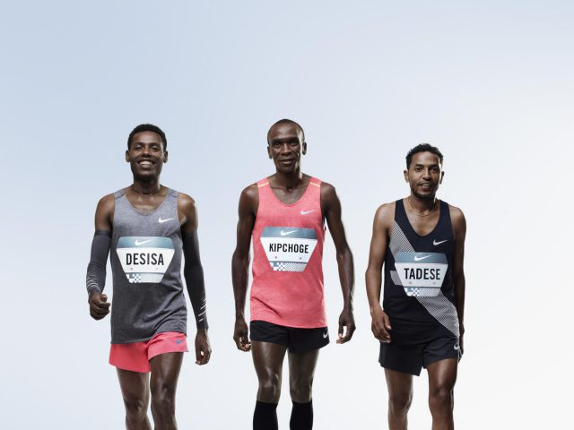 Nike presenta Breaking2, su proyecto para lograr el sub 2 horas en maratón