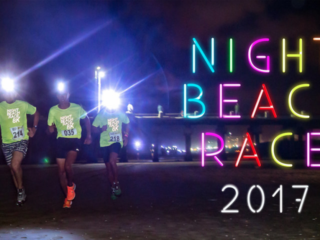 Night Beach Race en San Clemente, el 21 de Enero
