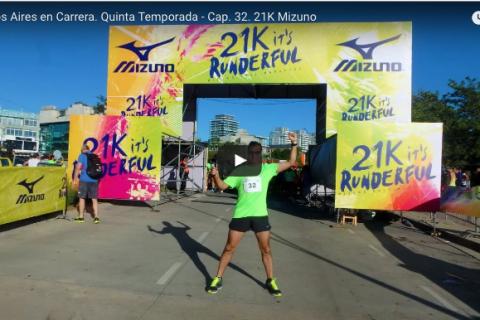 Buenos Aires en Carrera en los 21K Mizuno 2016