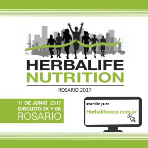Carrera Herbalife Nutrition Rosario 2017, el 11 de Junio
