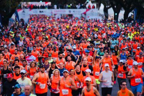 Buenos Aires en Carrera en la Maratón de Buenos Aires 2018