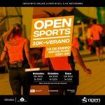 10K Open Sports 2018, el 19 de Enero en Mar del Plata