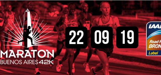 Las fechas del Maratón de Buenos Aires 2019