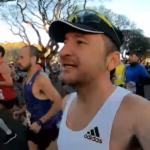 Charlas al trote del Colo Mourglia en la Maratón de Buenos Aires 2019