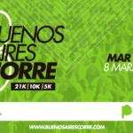 Buenos Aires Corre 2020, el 8 de Marzo en Mar del Plata