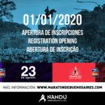 Inscripciones abiertas para la Maratón y Media Maratón de Buenos Aires