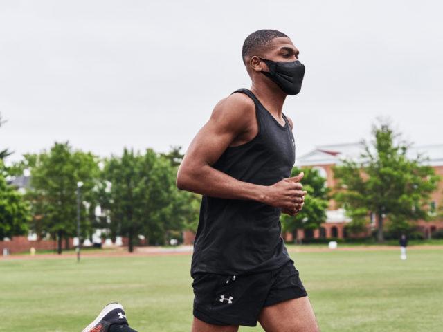 Under Armour está desarrollando máscaras para entrenar