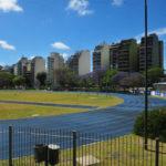 Reapertura de la pista de atletismo de Parque Chacabuco