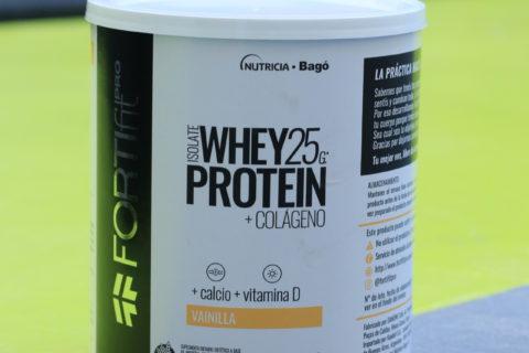 Llega Fortifit Pro, el nuevo suplemento nutricional de Nutricia Bagó con formula única de proteína, colágeno, calcio y vitamina D