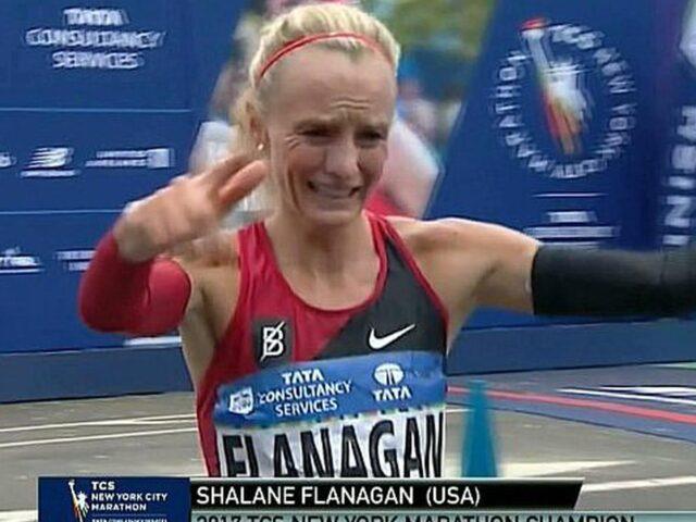 Shalane Flanagan, la estadounidense que correrá 6 maratones en 42 días