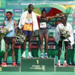 Elisha Rotich batió el récord que tenía Kenenisa Bekele en el Maratón de París