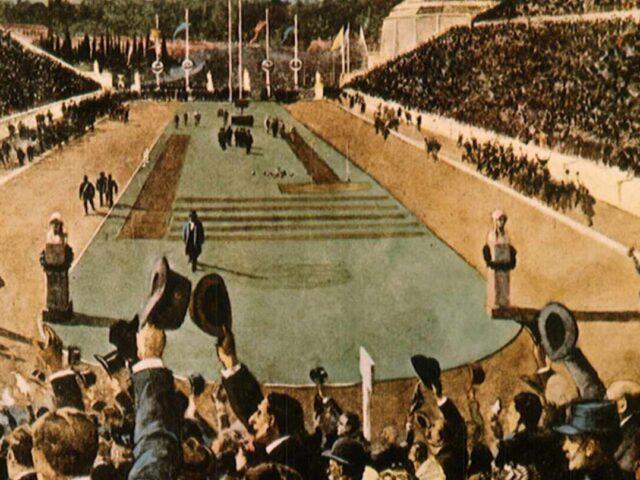 Grecia y la fiebre del oro de Atenas 1896
