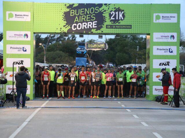 El 31 de octubre se realizará el Buenos Aires Corre Vicente López 2021